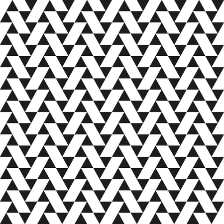 parallelogram: Seamless Abstract Triangle and Parallelogram Pattern Illustration