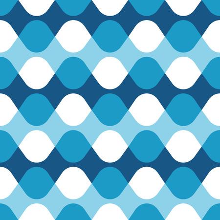 Seamless geometric vibrating vector dot pattern Illustration