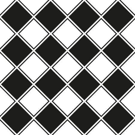 Seamless vector linear check pattern with alternating fill