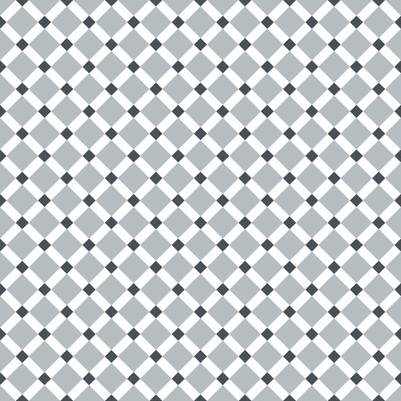 gray pattern: Seamless Steel Grey Diagonal Check Pattern Illustration