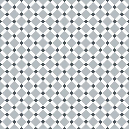 Seamless Steel Grey Diagonal Karo-Muster Vektorgrafik