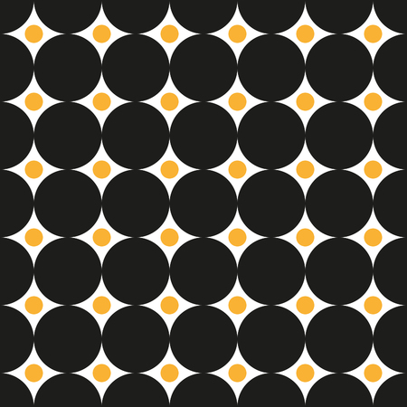intersecting: Seamless intersecting circle dot pattern texture background