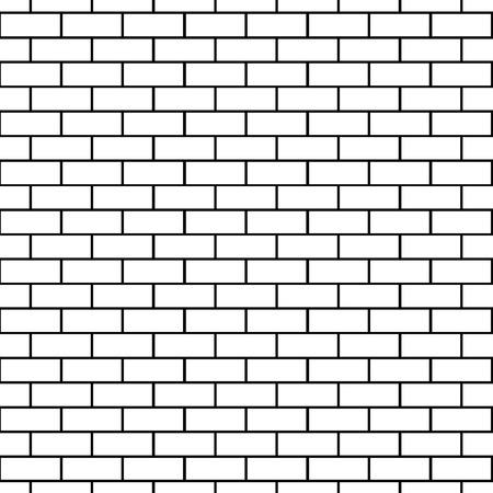 brick background: Seamless brick background pattern