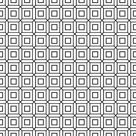 interlink: Seamless geometric abstract pattern