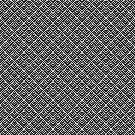 Seamless Art Deco Pattern Background Vector Illustration