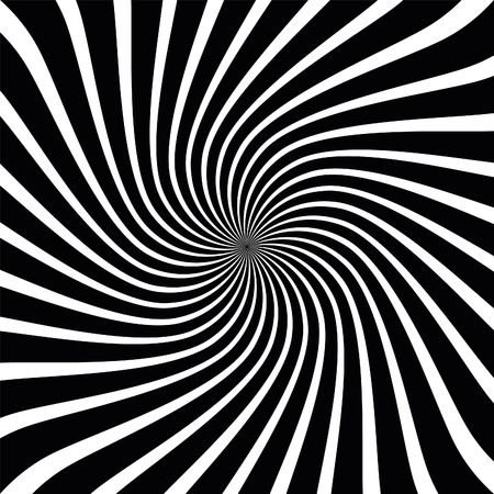 disappearing point: Vector Op Art Spiral