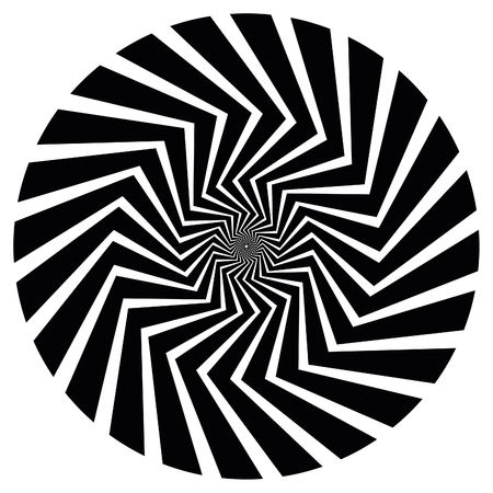 disappearing point: Vector Spiral. Also available as part of a set of nine spirals.