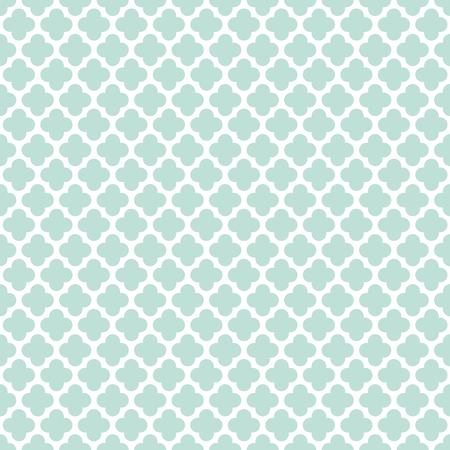 Seamless Vintage Trellis Lattice Pattern Background Çizim