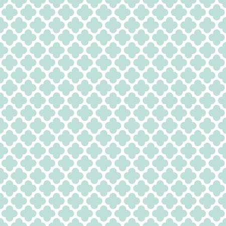 Seamless Vintage Trellis Lattice Pattern Background Illustration