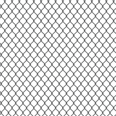 Seamless chain link fence pattern texture wallpaper 向量圖像