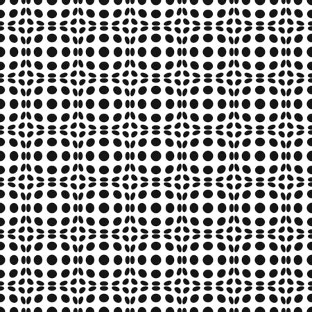 vibrate: Seamless Op Art Distortion Pattern in Vector Format