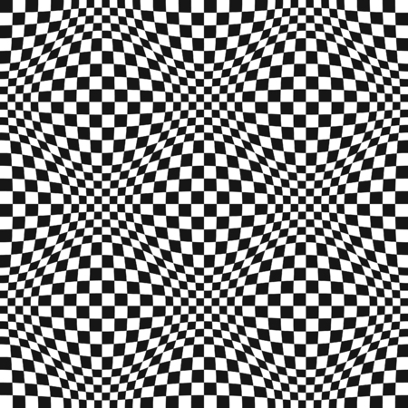 distortion: Seamless Op Art Distortion Pattern in Vector Format