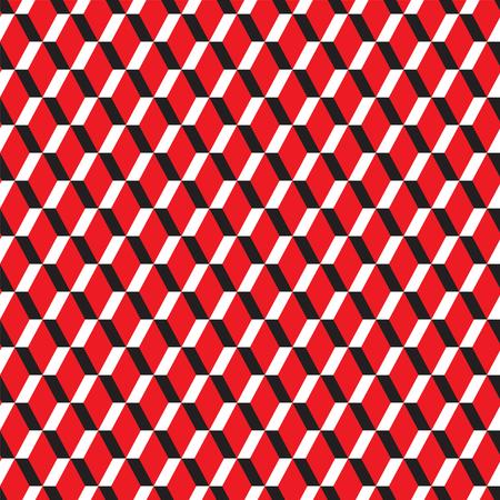 Seamless geometric abstract zig zap pattern Illustration
