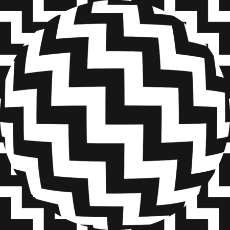 hemispherical: Vector Chevron Pattern with Fisheye Lens Effect. Also available in a set.