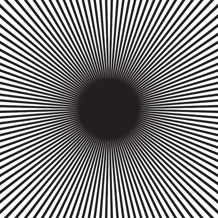 disappearing point: Abstract radial sunburst ray background in vector format.