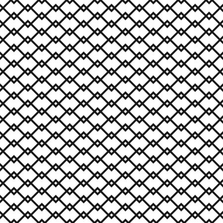 Seamless overlapping trellis lattice pattern