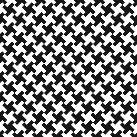 Seamless abstract geometric weave pattern background.