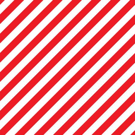 Seamless Christmas Stripe Wrapping Paper Pattern Ilustração