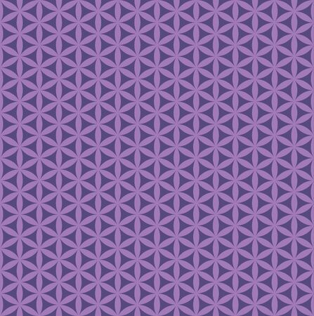 Seamless abstract purple flower pattern 일러스트