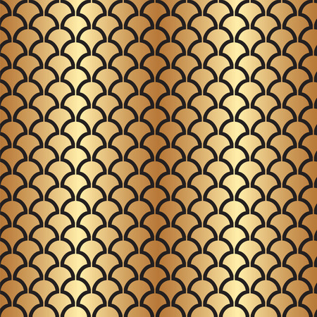 Abstract Seamless Art Deco Vector Pattern Texture 矢量图像
