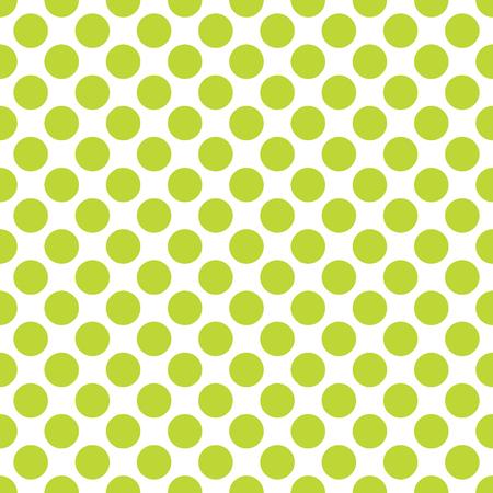 Fondo de textura de patrón de lunares verde lima sin costura