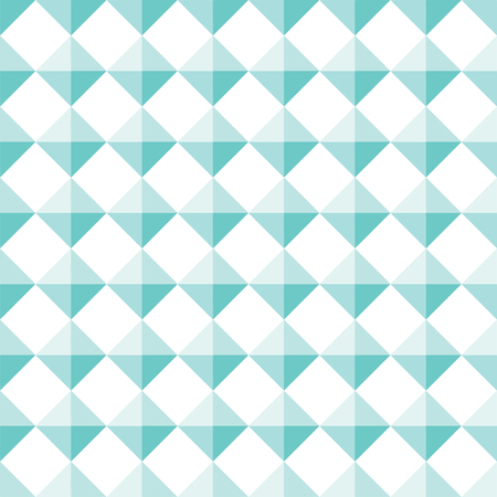 Seamless Turquoise Diamond Shape Stud Pattern Background Illustration
