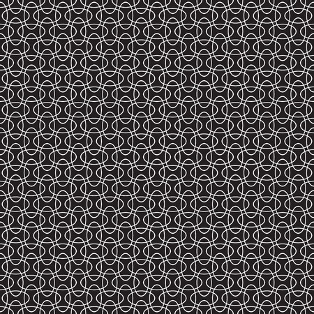 elipse: Seamless intersecting geometric overlapping circle elipse pattern background