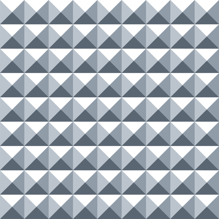 Seamless Square Shaped Steel Studded Pattern Background Vetores