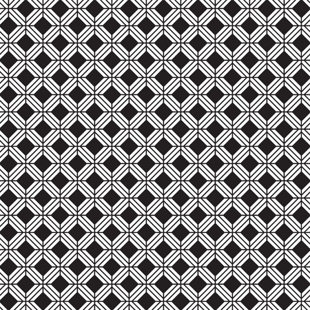 Seamless vintage weave pattern Illusztráció