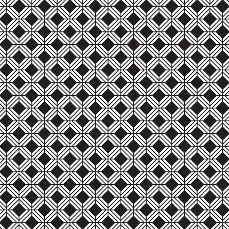 Seamless vintage weave pattern Ilustrace