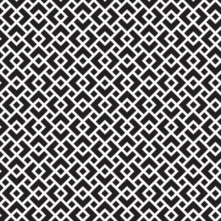 Seamless geometric art deco overlapping square pattern background
