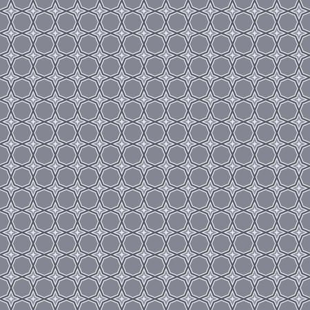 Seamless abstract geometric vintage octagon illustration pattern