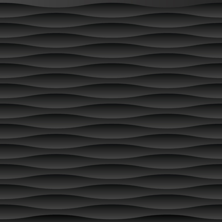Seamless abstract black moulded dark shadow pattern texture