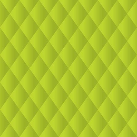 Seamless Lime Green Diamond Padded Panel Diagonal