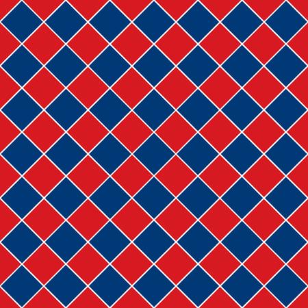 Seamless geometric square diagonal pattern