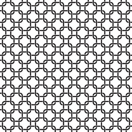 Seamless interlocking geometric pattern background