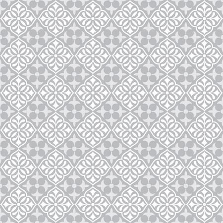 Seamless Damask Pattern Wallpaper