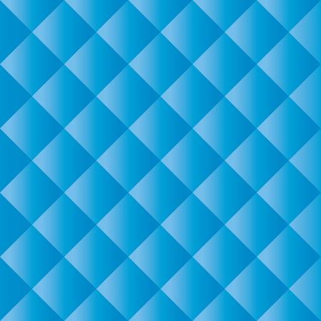 Blue Padded Texture Illustration