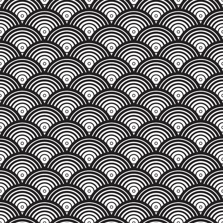 Un motif Art déco Seamless vector Vecteurs