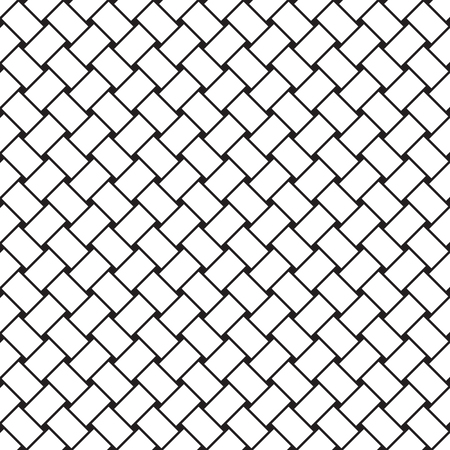 A Seamless vector weave pattern 矢量图像