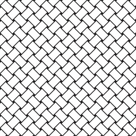 A Seamless vector weave pattern Stock Illustratie