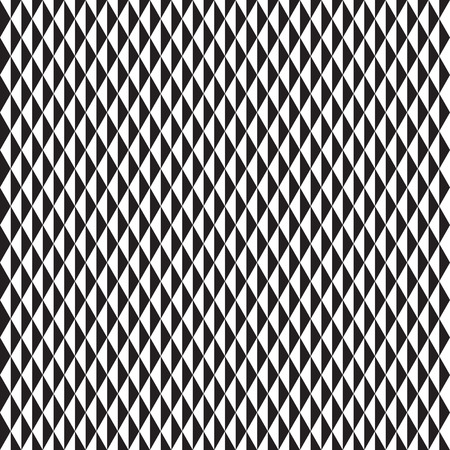 Seamless black and white triangle pattern background