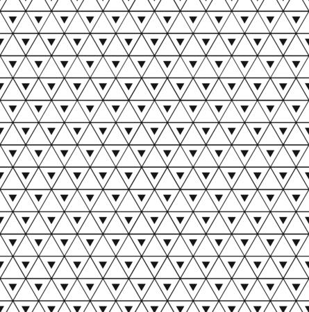 Seamless vintage decorative triangle pattern  イラスト・ベクター素材