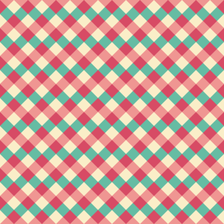 Seamless christmas weave check pattern. Ideal for gift wrapping paper designs.