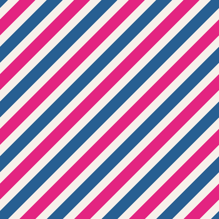 Seamless stripe pattern background in pink and blue Illustration