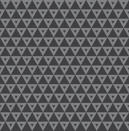 Seamless vintage decorative triangle inlay pattern background