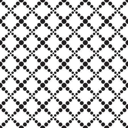 Fondo de patrón cuadrado de línea de corriente de punto geométrico transparente