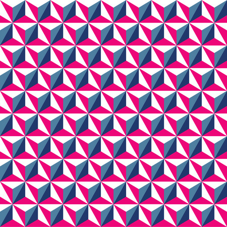 Seamless geometric triangle pattern background wallpaper.