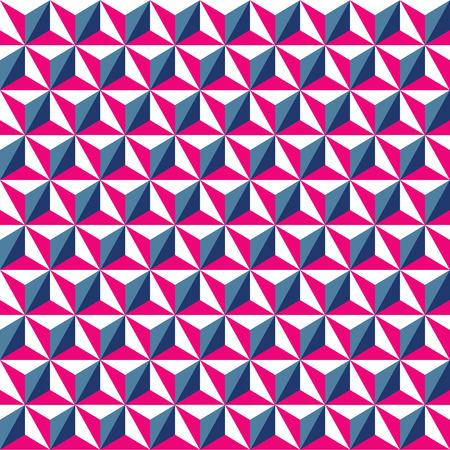 Seamless geometric triangle pattern background wallpaper.