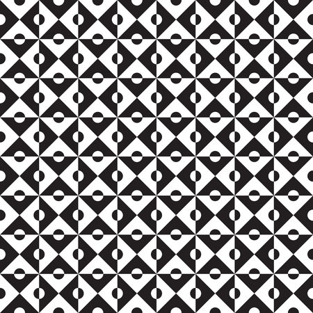 Seamless abstract geometric op art pattern background